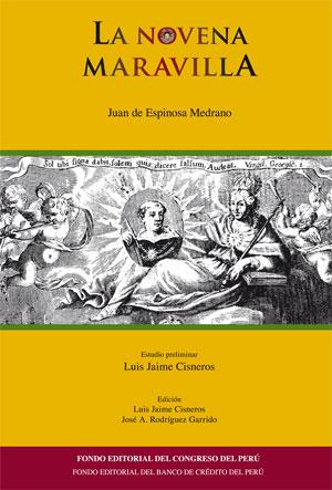 Portada de La novena maravilla de Juan de Espinosa Medrano
