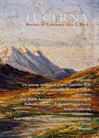 Portada de la cuarta edición de la revista Lucerna