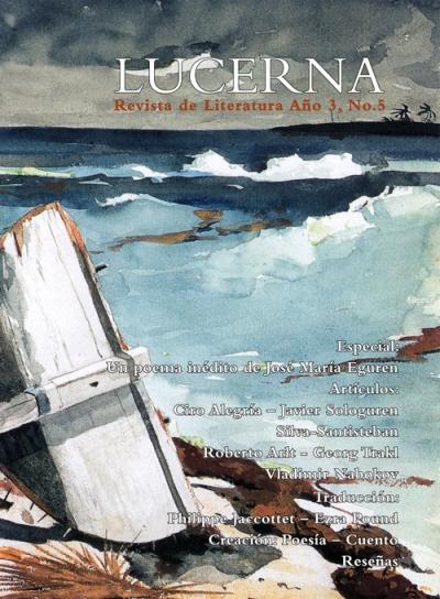 Portada revista Lucerna No. 5
