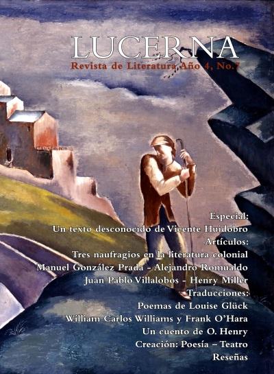 Portada de revista Lucerna No. 7