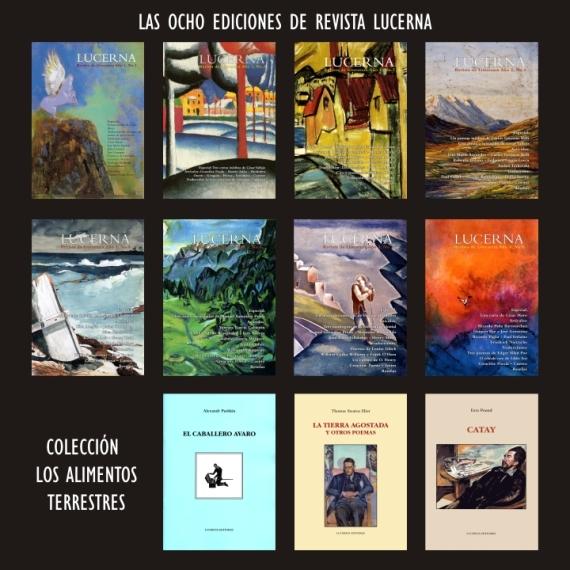 Las ocho ediciones de revista Lucerna