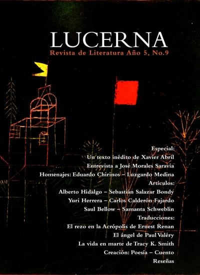 Portada de Lucerna No. 9