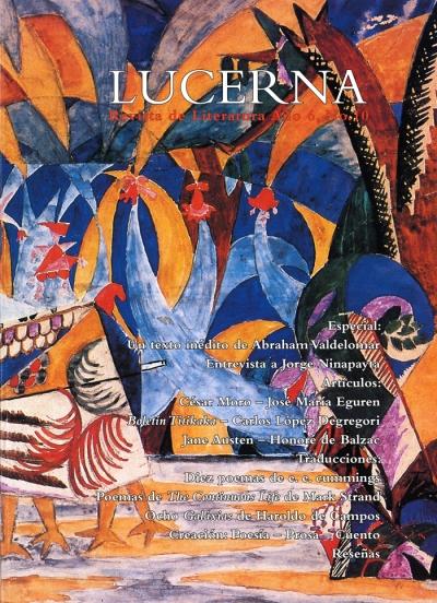 Portada de revista Lucerna No. 10