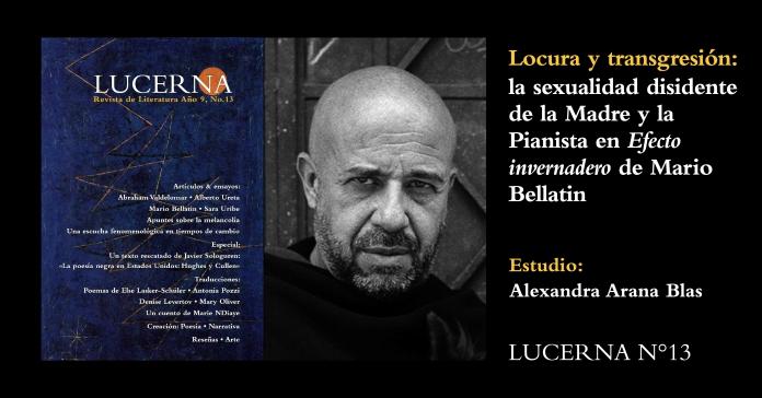Mario Bellatin en Lucerna N°13 WEB